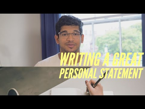 How To Write YOUR UCAS PERSONAL STATEMENT IN 7 MINUTES