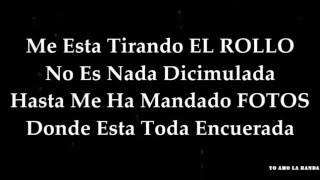 Banda Los Recoditos Me Esta Tirando El Rollo (LETRA)
