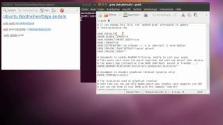 Ubuntu Grub 2 Bootreihenfolge ändern