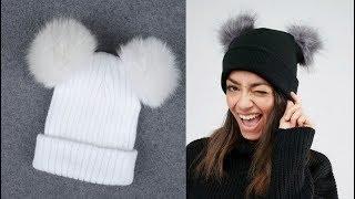 7 Зимние Женские шапки с Алиэкспресс Aliexpress Women s winter hats Головные уборы Зима 2020