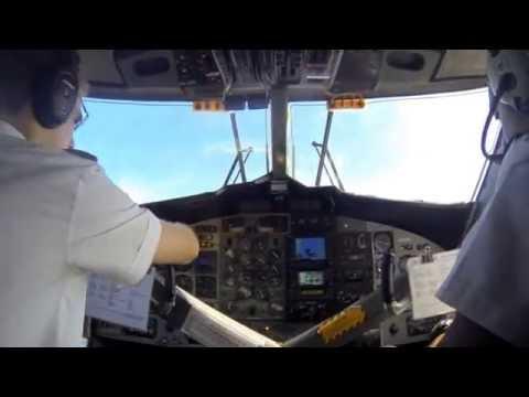 Air Vanuatu Movie - Flug Port Vila Tanna
