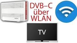 Fritz!Box streamt Videosignal von DVB-C per (W)LAN im ganzen Haus!