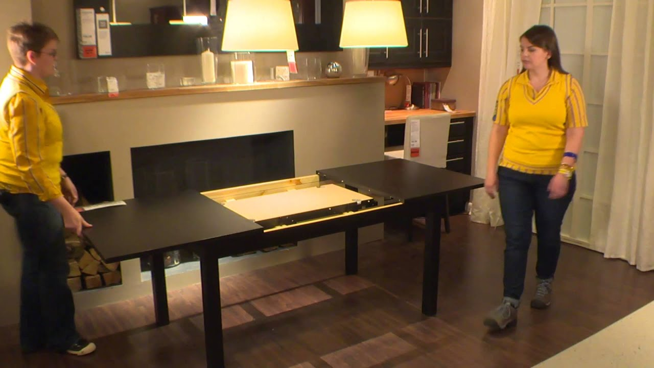 Bjursta Ikea Part - 18: BJURSTA Table - IKEA Home Tour - YouTube