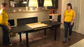 Bjursta Table - Ikea Home Tour