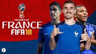 FIFA 18 WORLD CUP MODE PLAYTHROUGH WITH FRANCE - GROUP STAGES [#1]