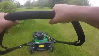 Certified Briggs and Stratten 500e 140CC 3-in-1 Push Lawn Mower Review