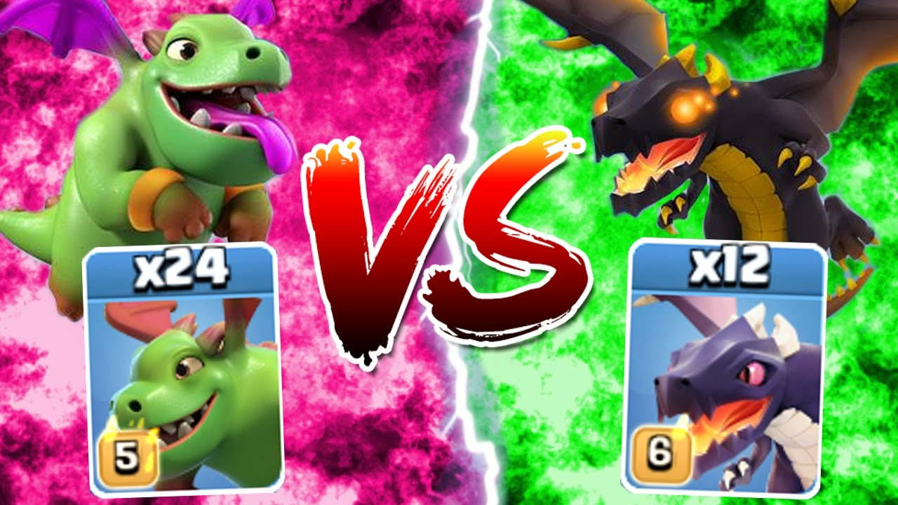 clash of clans dragon level 6 wwwimgkidcom the image