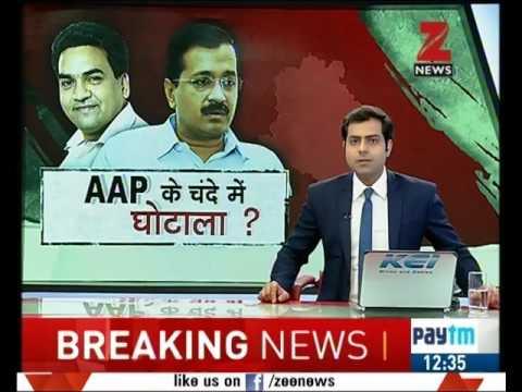 Kapil Mishra exposes Arvind Kejriwal in a press conference