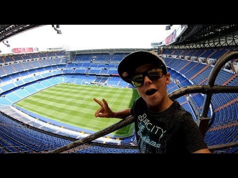 REAL MADRID - Santiago Bernabeu Stadium Tour - 4K