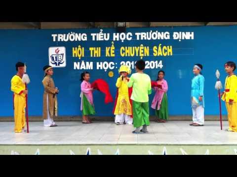 Hội thi kể chuyện sách - Trường Tiểu học Trương Định - Lớp 3/2 - 2014