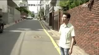 티아라 팬 계란 던지기..