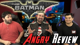 Lego Batman Angry Movie Review