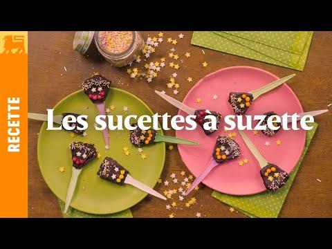 Les sucettes à suzette