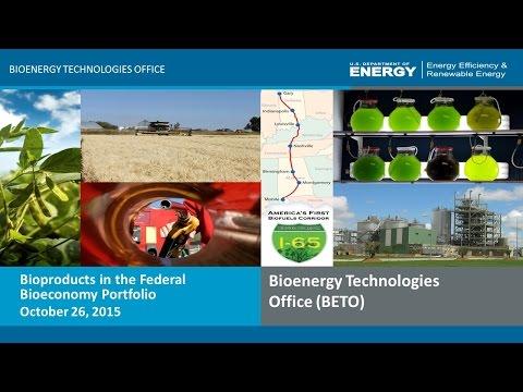 Bioproducts in the Federal Bioeconomy Portfolio