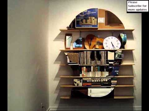 Creative Bookshelves And Libraries |Wall Mounted Shelving Collection