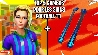 TOP 5 OF COMBOS FOR FOOT SKINS ON FORTNITE: BATTLE ROYALE #1