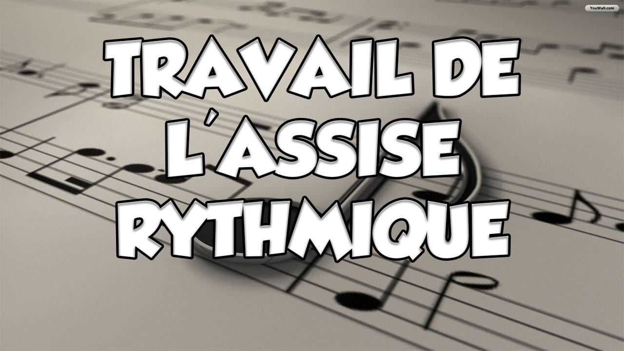 TRAVAIL DE L' ASSISE RYTHMIQUE - LE GUITAR VLOG 273