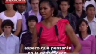 Pasea Margarita Zavala a Michelle Obama