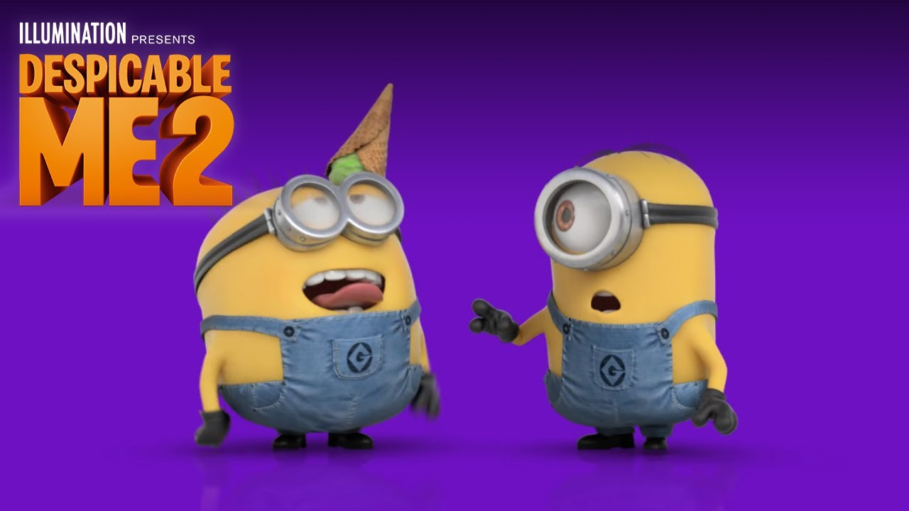 despicable me 2 quothappyquot lyric video by pharrell williams