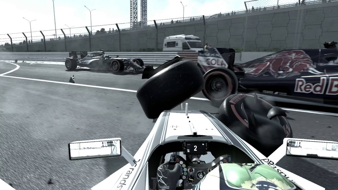 f1 2016 ps4 gameplay russia crash 1080p 60fps youtube. Black Bedroom Furniture Sets. Home Design Ideas