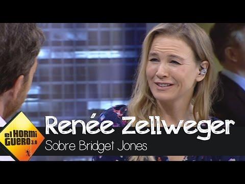 Renée Zellweger nos cuenta qué hay en el fondo del corazón de Bridget Jones - El Hormiguero 3.0