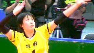 【石川祐希・妹】スパイク練習!女子中学生バレーボール全国大会・決勝 長野 vs 長崎 JOC  Volleyball Spikes Girls Japan ハイキュー 石川真佑