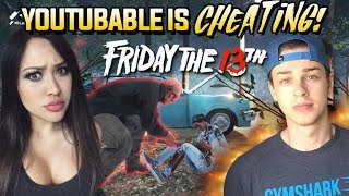 Youtubable's FIRST TIME BEING JASON! Friday The 13th Funny Moments & FAILS