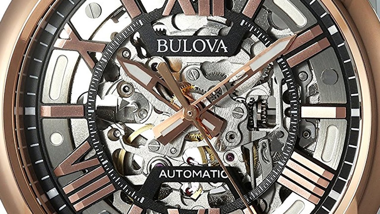e29ac0665 Best Watches. Bulova Men's Automatic Stainless Steel Casual WatchMulti  Color Model 98A166