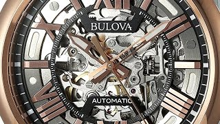 best watches bulova men s automatic stainless steel casual watchmulti color model 98a166
