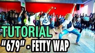 679 - FETTY WAP Dance TUTORIAL | @MattSteffanina Choreography (Beg/Int Hip Hop)