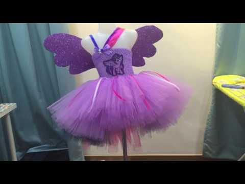 My Little Pony (Twilight Sparkle) Inspired Tutu Dress