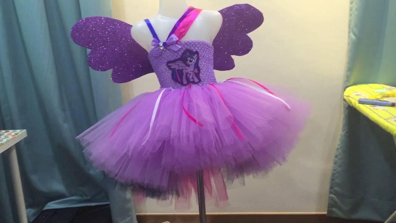 906e7e67f4 My Little Pony (Twilight Sparkle) Inspired Tutu Dress - YouTube