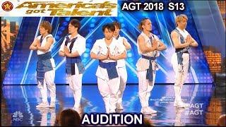 Blue Tokyo Dance Group AMAZING DANCE  America