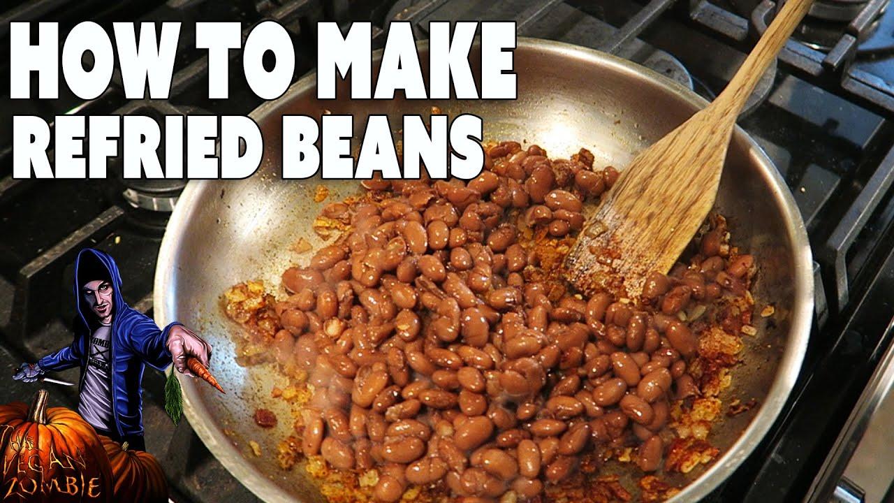 Refried beans vegan