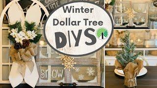 Dollar Tree Christmas Winter DIYs 2019