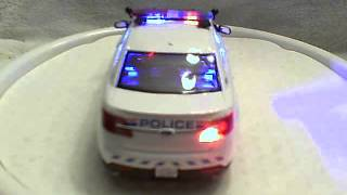 1/24 scale RCMP diecast model replica with working lights