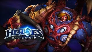 ♥ Heroes of the Storm (Gameplay) - Tychus, Lazers VS Heartburn (HoTs Quick Match)