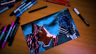 Drawing ALL FOR ONE ! ( BOKU NO HERO ACADEMIA ) ALL MIGHT FIGHT