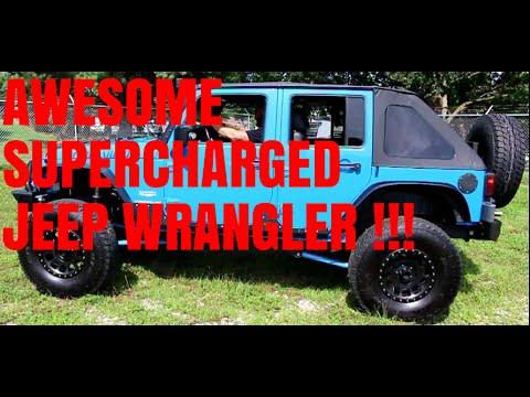 Test Drive - 2011 Jeep Wrangler Unlimited JK Supercharged - MRDTV Test Drives