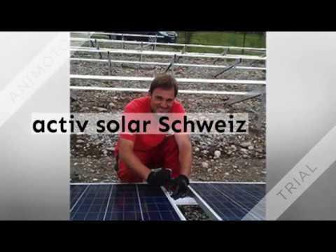 About us: activ solar Schweiz GmbH 360p