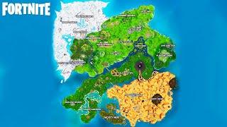 *NEW* FORTNITE SEASON 9 MAP! (Fortnite Battle Royale)