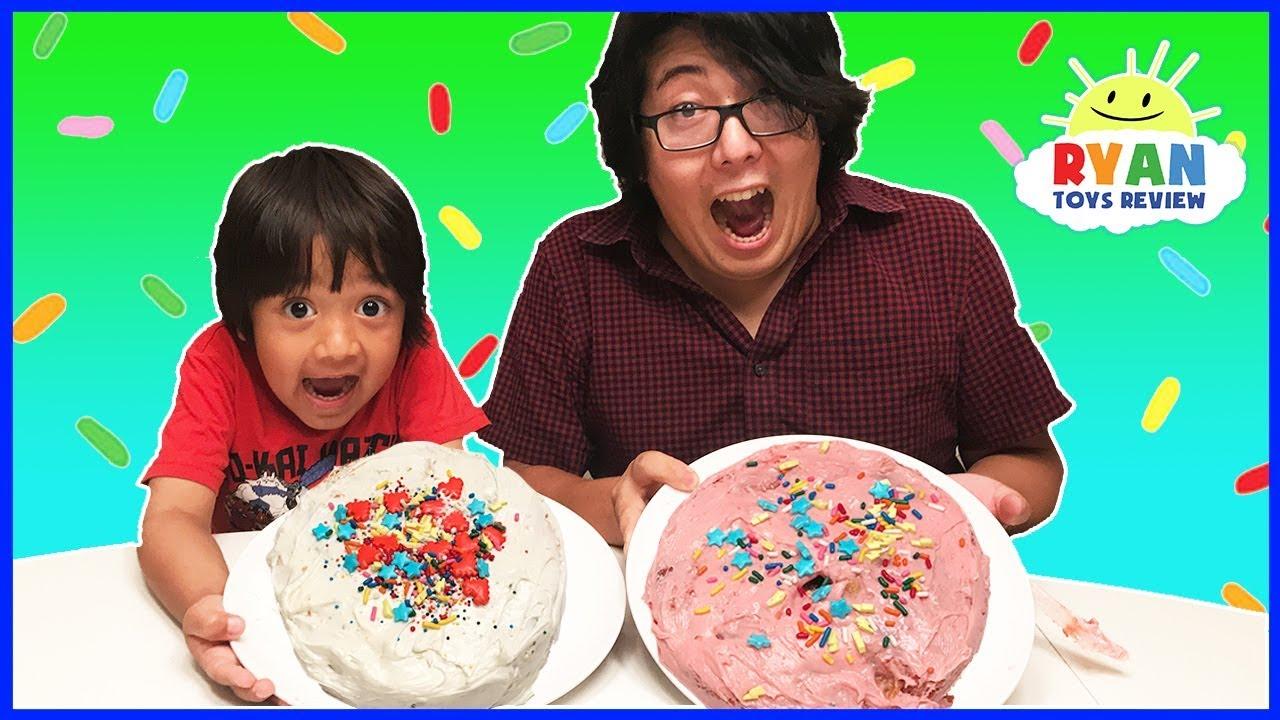cake challenge parent vs kid family fun activities
