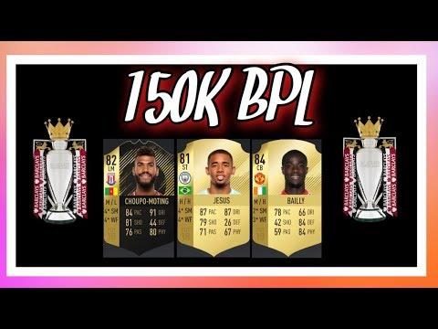 FIFA 18 150k BPL Squadbuilder ft IF CHOUPO MOTING!