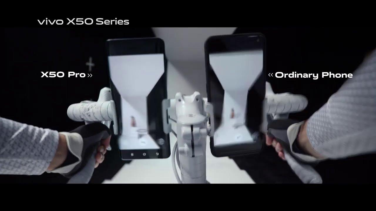 vivo X50 Pro - Gimbal Stabilization