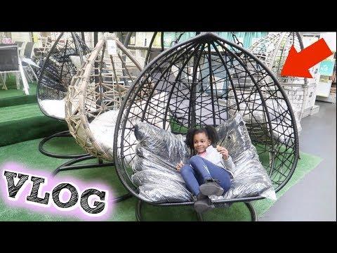 Les Fauteuils Oeufs Suspendus Gifi Sont La Shopping Vlog