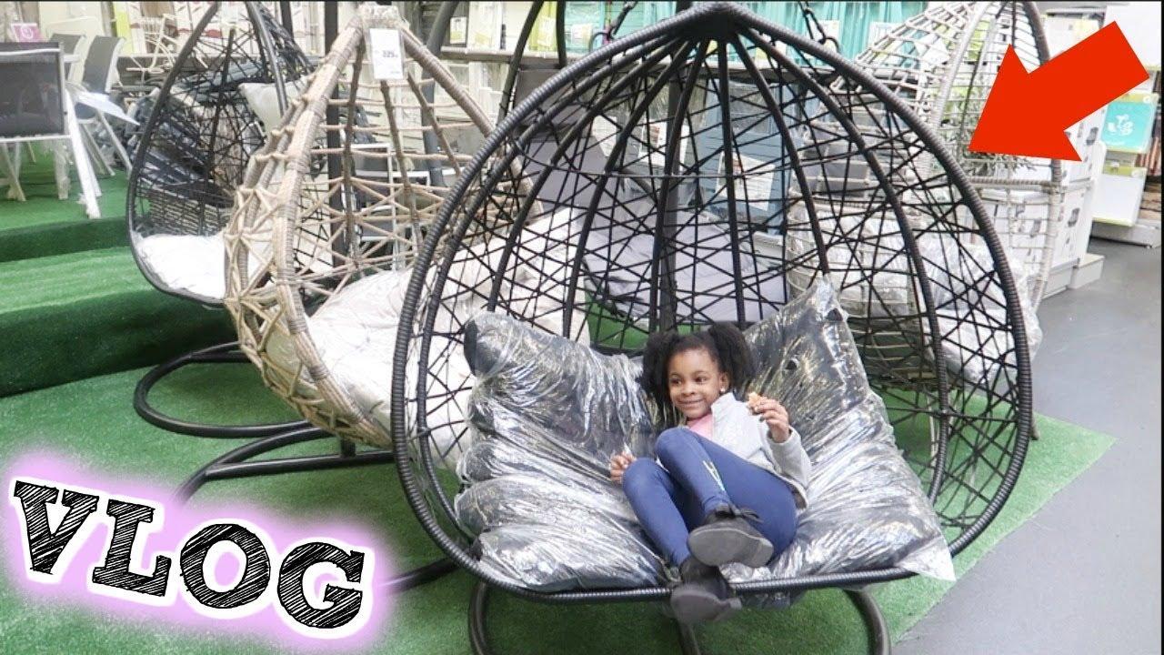 Les Fauteuils Oeufs Suspendus Gifi Sont La Shopping Vlog De Maman