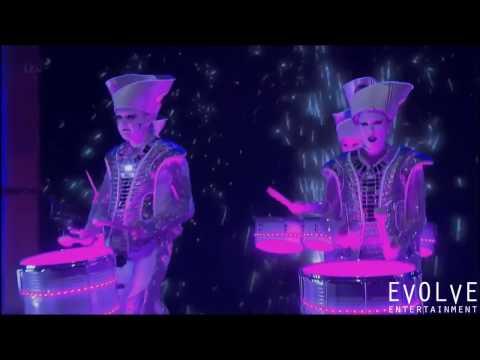 LED Drumming Troupe