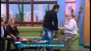 Jota Mario Valencia Es Insultado En Muy Buenos Días - 2014