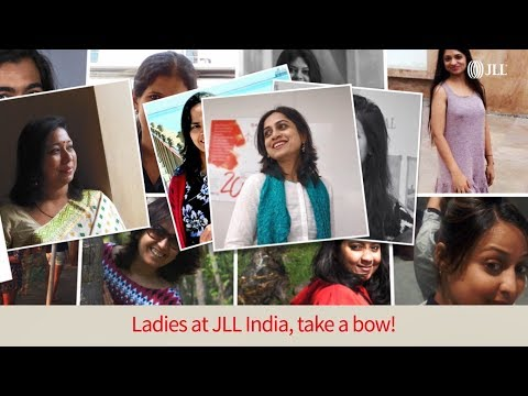 Ladies at JLL India, take a bow! Happy Women's Day!