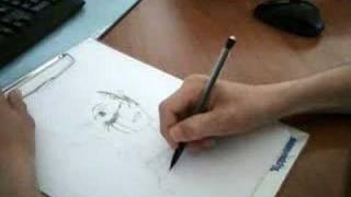 anime drawing: saya drawing blood+ - Burn in hell